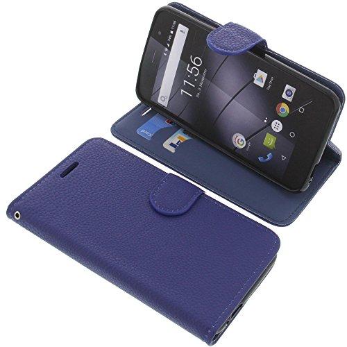 foto-kontor Tasche für Gigaset GS160 / GS170 GS170 Book Style blau Schutz Hülle Buch