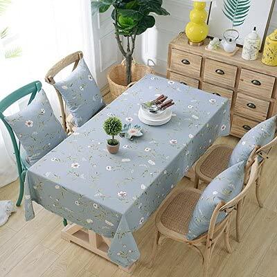XXDD Mantel de Lino Rectangular Impermeable para decoración de Bodas, Mantel para decoración de Cocina, Mantel para Fiestas en casa, A4 140x160cm