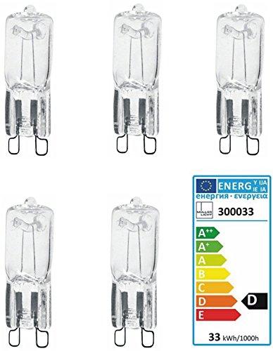 Müller Licht Halogenlampe G9 230 Volt 33W DIMMBAR 460lm (5)