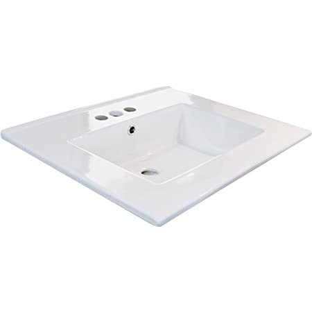 Kohler K 2979 1 0 Tresham One Piece Surface And Integrated Bathroom Sink With Single Hole Faucet Drilling White Vanity Sinks