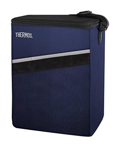 THERMOS Kühltasche Classic small 7,5 Liter - Isolierte Einkaufstasche aus Polyester, blau 15 x 22 x 30 cm - Faltbare Isoliertasche ideal für Kindergarten, Schule, Büro, Auto oder Urlaub - 4080.252.075