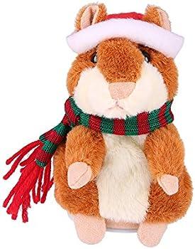 Yoego Talking Hamster Repeats Stuffed Plush Animal