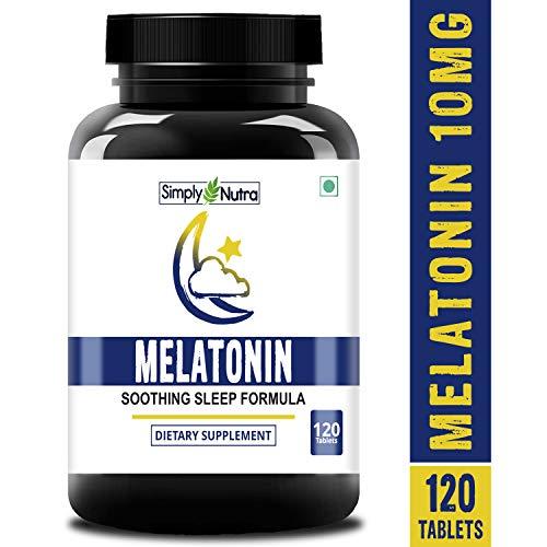 Simply Nutra Melatonin 10mg (Healthy Sleep Cycle)...