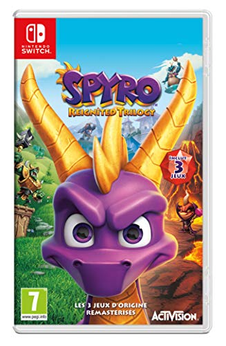 Spyro Reignited Trilogy (Switch) - Nintendo Switch [Importación francesa]