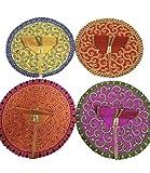 Crafting A Beautiful Set de 6 vestidos de LADOO Gopal/KRISHANA / MAAKHAN CHOR, número de talla – 0, 1,2 se ve bien en tu ídolo, color: multicolor