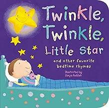 Twinkle, Twinkle, Little Star: And Other Favorite Nursery Rhymes (Padded Nursery Rhyme Board Books)