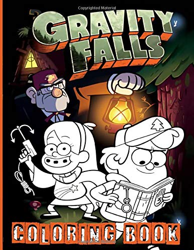 Gravity Falls Coloring Book: Coloring Books For Adult And Kid