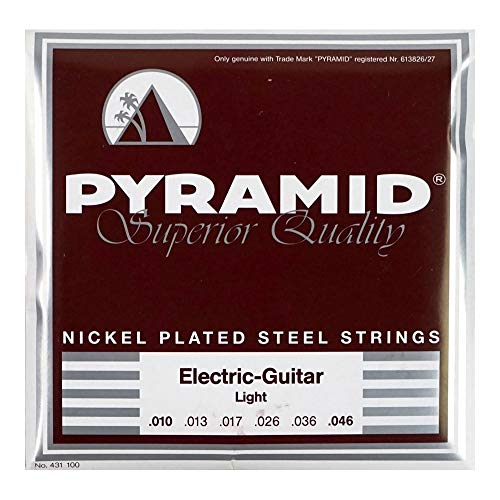 Pyramid  Electric Guitar Strings Nickel-Plated Steel Round Wound - Light