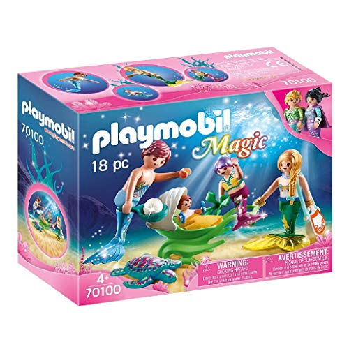Playmobil 70100  Magic Familia con Conchas