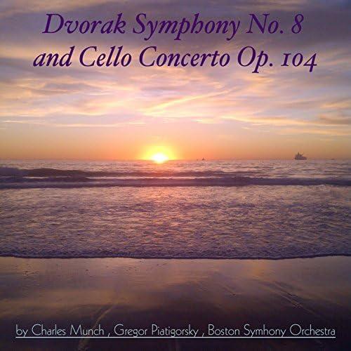 Boston Symhony Orchestra, Charles Munch & Gregor Piatigorsky