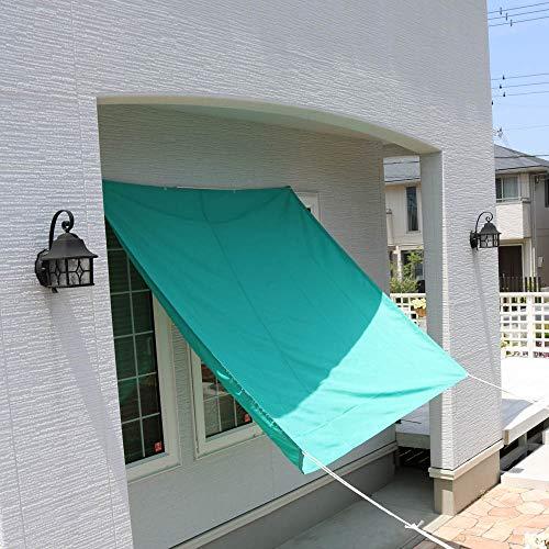 ウォーターブロック W200×H300cm ネイビー 日よけ すたれ 雨除け シェード 撥水 撥水オーニング