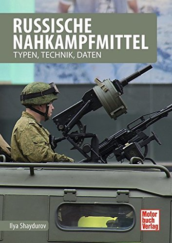 Russische Nahkampfmittel: Typen, Technik, Daten