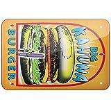 JIA KOAH Big Kahuna Burger, Pulp Fiction Zinn Wand Zeichen