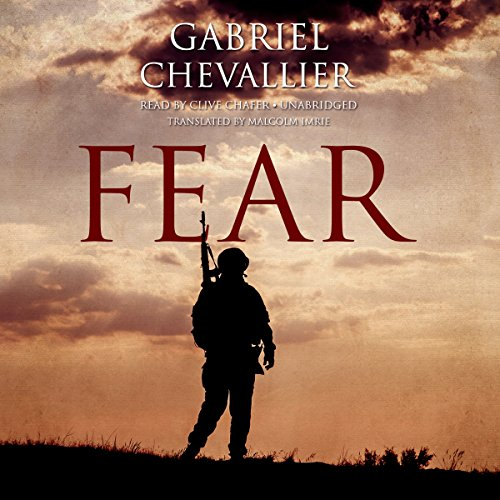 Fear audiobook cover art