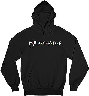 Black Hoodie Friends design - Men - Women