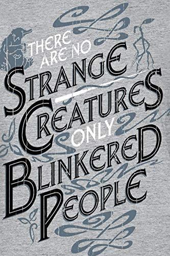 Fantastic Beasts Crimes Of Grindelwald /'There Are No Strange Creatures/' T-shirt.