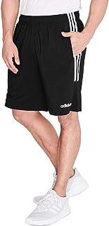 adidas Essentials 3-Stripes Men's Chelsea Shorts (Medium, Black/Black/White)