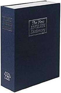 リタプロショップⓇ えっ金庫!?金庫だと気づかれない! 本棚にスッポリ収納 辞書型金庫 Lサイズ ブルー