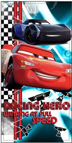 TEXTIL TARRAGO Toalla de Playa Microfibra 70x140 cm Cars Rayo MC Queen