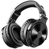OneOdio Bluetooth Over Ear Headphones - Wireless & Wired Bass Stereo Hi-Fi Sound Bluetooth Foldable Headset 30 Hrs Play Time with Deep Bass 50mm Neodymium Drivers for PC Phone TV Studio Wireless