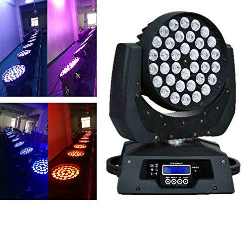 OUKANING DMX512 Lichteffekt Mini Moving Head LED Pinspot Licht 360W Zoom RGBW DJ Bühnenbeleuchtung Wash Licht