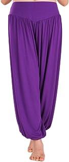 AvaCostume Womens Modal Cotton Soft Yoga Sports Dance Harem Pants