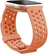 Fitbit Versa 2 Sports Band Accessory, Coral, Large