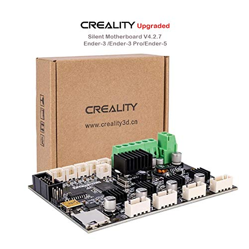 Creality New Upgrade Ender 3 Motherboard Silent Mainboard V4.2.7(V1.1.5), 3D Printer Silent Mainboard with TMC2208 Driver for Ender 3/Ender 3 Pro/Ender 5/ (Customized and Non-Standard Matching)