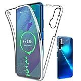 SDTEK Case for Huawei Nova 5T Full Body Front and Back