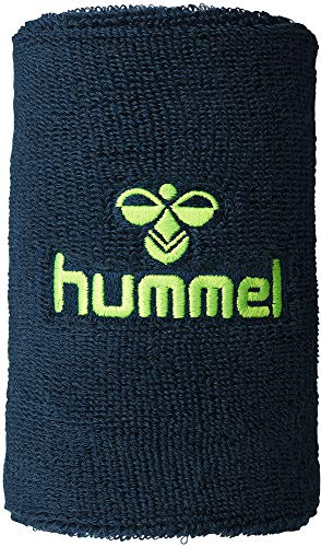 Hummel Schweißbänder Old school big wristband Legion blue/green gecko, Größe Hummel:111