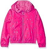 Pink Platinum Girls' Toddler Printed Windbreaker Jacket with Mesh Lining, 2T Pink