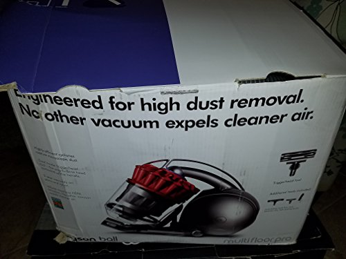 Dyson DC39 Ball Multifloor Pro Canister Vacuum (red)