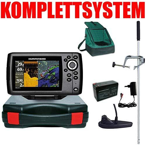 Humminbird Echolot GPS Portabel Master Plus Helix 5 Chirp GPS DI G2 Down Imaging