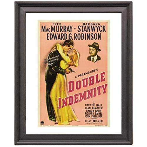 Double Indemnity - Picture Frame 8x10 inches - Poster - Print