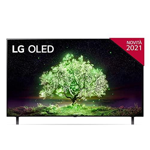 LG OLED OLED55A16LA 55' 4K Ultra HD Smart TV NOVITÀ 2021 Wi-Fi Processore α7 Gen4 AI Picture