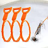 Vastar 3 Pack 19.6 Inch Drain Snake Hair Drain...