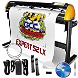 GCC Professional Expert II LX Vinyl Cutter 52 Inch Wide with Stand & Aligning System for Contour Cutting