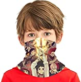 """NA"" My Hero Academia Seamless Face Cover/Headband, Scarf, Multi-Functional Full-Coverage Tube Bandanas for Boy/Girl"