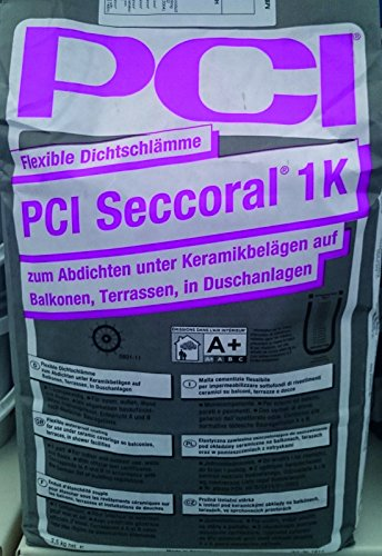 PCI Seccoral 1K, Flexible Dichtschlämme zum Abdichten 3,5kg, Mosako