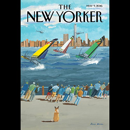 The New Yorker, May 9th 2016 (Jake Halpern, Lauren Collins, Kelefa Sanneh) audiobook cover art