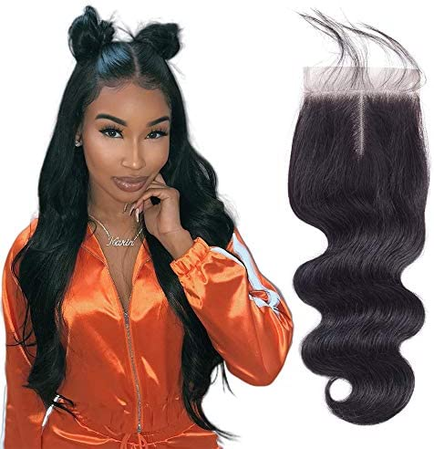 20 Inch Body Wave Closure 100 Unprocessed Human Hair Closure Top Closure Brazilian Body Wave product image