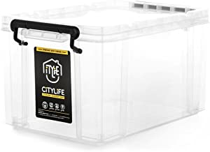 Citylife X-6069 Strong Box, 440x300x240mm, 20L, Clear