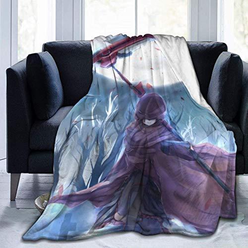 VJSDIUD Anime RW by Throw Blanket Impresión cálida y cómoda Superligera, Ultra Suave y difusa, Manta de Micropolar para Todas Las Estaciones y sofá, Manta de Viaje para Cama, 50 'x40