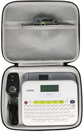 Khanka Hard Travel Case Replacement for Brother Pt-d400 / PTD400AD / P-Touch Label Maker