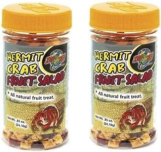 Zoo Med Hermit Crab Fruit-Salad All Natural Fruit Treat (0.85 oz (2 Pack))