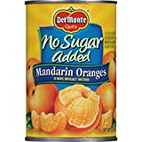 Del Monte Canned Mandarin Oranges, 15 Ounce (Pack of 12)