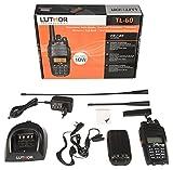 LUTHOR TL-60 Walkie Doble Banda 144/146 VHF-430/440 UHF,10 w