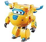 Alpha Animation & Toys Super Wings Transform 'n Talk Donnie vehículo de Juguete - Vehículos de Juguete (Azul, Naranja, 4 año(s), 9 año(s), Niño/niña, 12 Pieza(s), Interior)