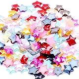 Random Color 1000PCS Craft ABS Star Imitation...