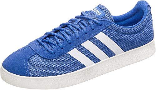 adidas Vl Court 2.0 - Zapatillas de skate para hombre, color Azul, talla 8 UK - 42 EU - 8.5 US